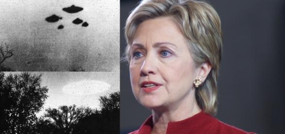 Hillary revelará arquivos ufológicos. YouTube