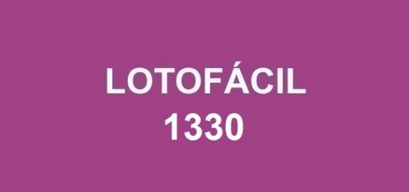 Prêmio de R$ 1,7 milhão sorteado na Lotofácil 1330
