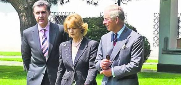 Principesa Margareta și Prințul Charles