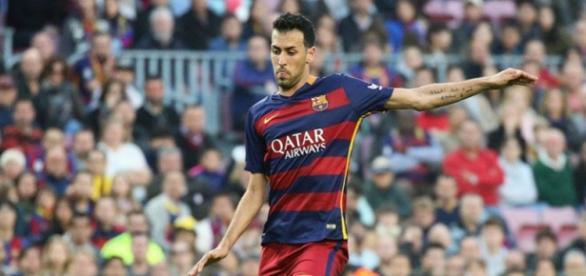 Sergio Busquets, jugador del FC Barcelona