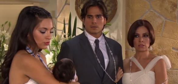 Daniel arenas e Ana Brenda Contreras na novela 'Coração Indomável'
