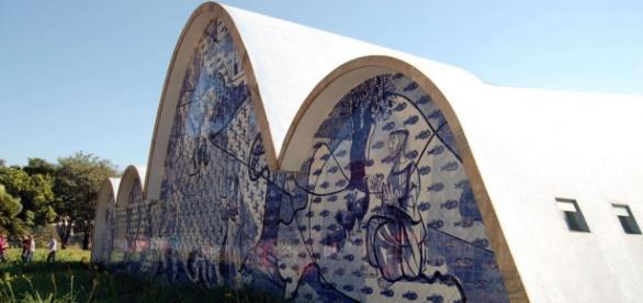 Igreja de Pampulha, o de São Francisco Xavier