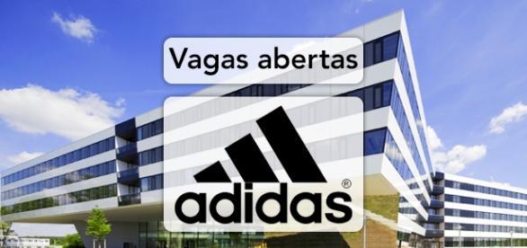 Vagas na Adidas. Foto: Reprodução Abimillar.