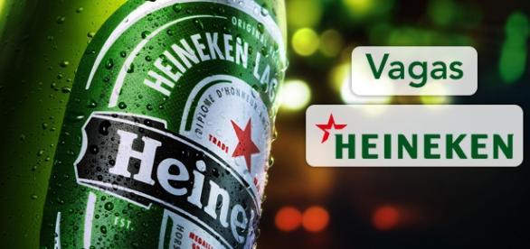 Vagas na Heineken. Foto: Reprodução Novojornal.