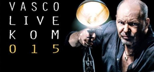 Vasco Rossi nel suo manifesto di 'Sono Innocente'