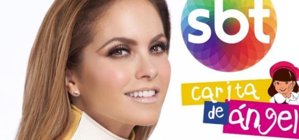 A atriz Lucero foi contratada pelo SBT.