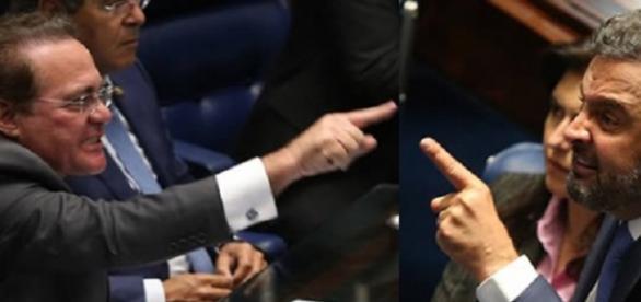 Bate boca no Senado ocasiona fim de sessão.