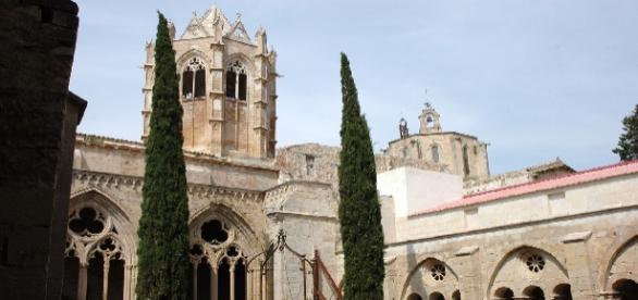 Claustro interior de Vallbona de les Monges