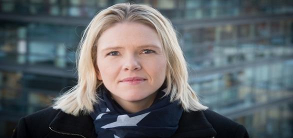 Foto de la ministra de integración noruega, Sylvi Listhaug.