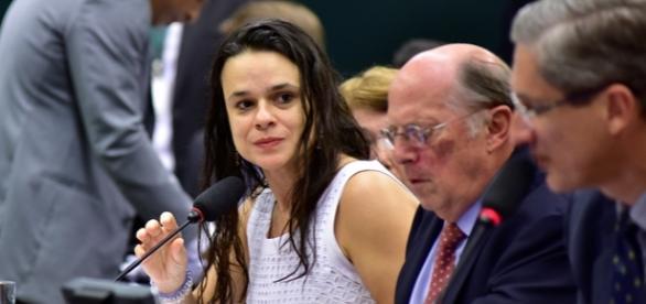 Janaína Paschoal e Miguel Reale Júnior na Comissão do Impeachment