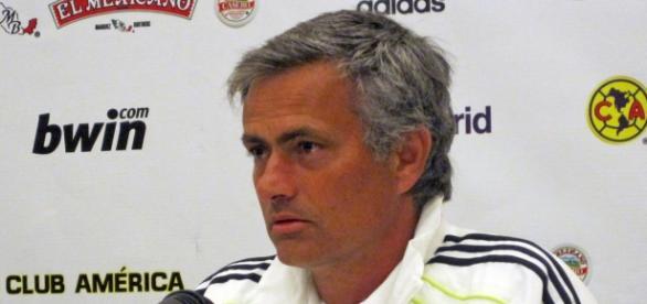 José Mourinho en su etapa en el Real Madrid