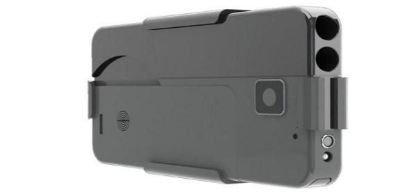 La pistola con forma de iPhone que está dando mucho de qué hablar en los Estados Unidos