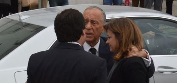 Marcelo Rebelo de Sousa presta homenagem