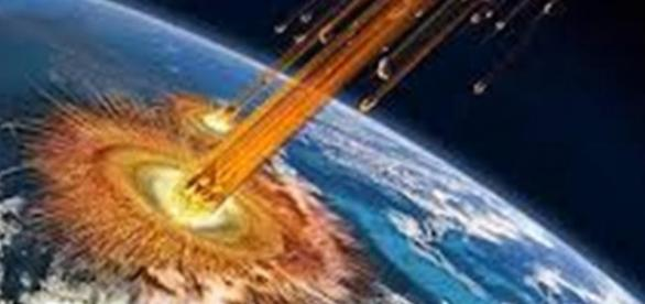 Meteors striking the Earth (Google)