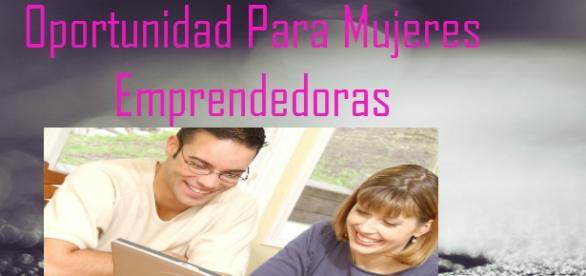Oportunidad para mujeres emprendedoras