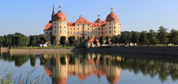 Foto: Castelo Moritzburg na Alemanha
