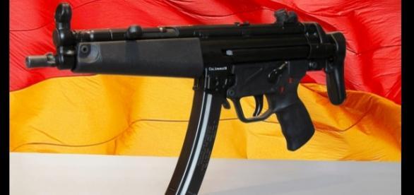Heckler & Koch MP5A3, aut. : Samuli Silvennoinen