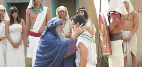 Jacó e José: emoção após anos de separação