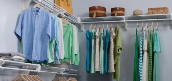 Organize your closets. wjablow/Wikimedia