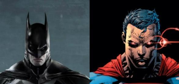 Os dois maiores heróis dos quadrinhos juntos