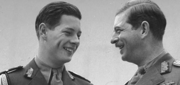 Regele Carol al II-lea și regele Mihai