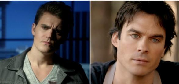 The Vampire Diaries 7x15: Stefan e Damon