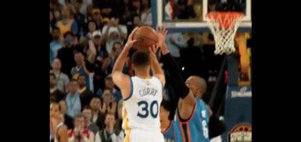 Curry en una de sus últimas actuaciones