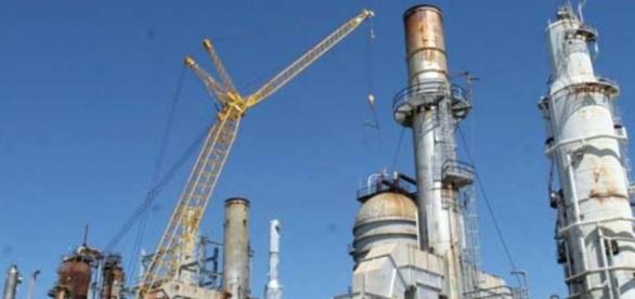 Em Pasadena, EUA, está uma refinaria da Petrobras