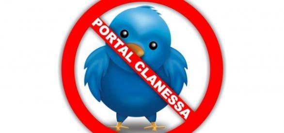 Twitter suspende conta do Portal Clanessa