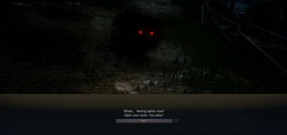 Captura de pantalla del espíritu desconocido