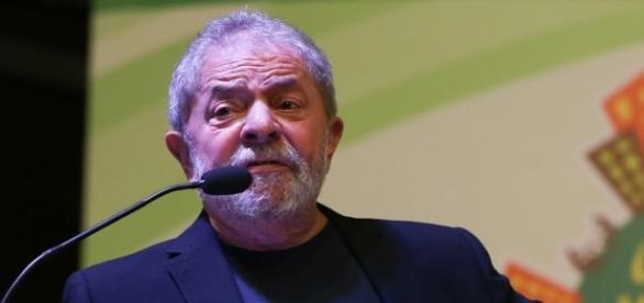 Ex presidente Lula em um evento