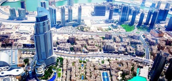 Foto: cidade Dubai - Emirados Árabes