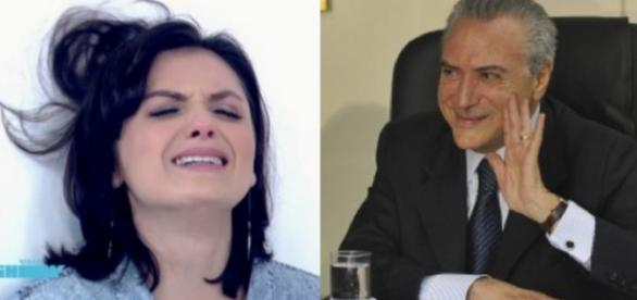 Monica Iozzi detona o PMDB na internet