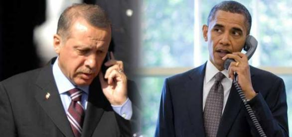 Președinții Turciei și SUA: Erdogan și Obama