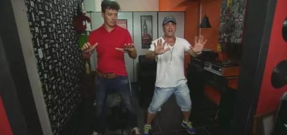 Rodrigo e Roy até dançaram 'Não Te Reprimas'