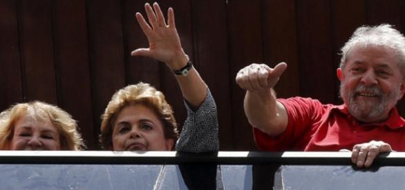 Visita de Dilma à LULA, pode sair cara
