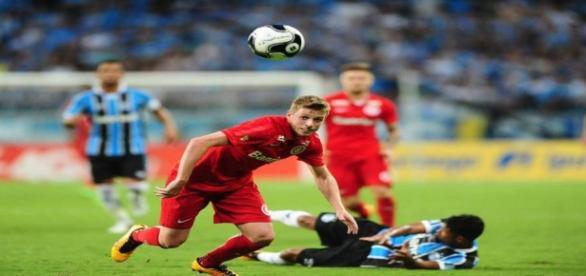 Aylon teve boa participação pelo lado do Inter