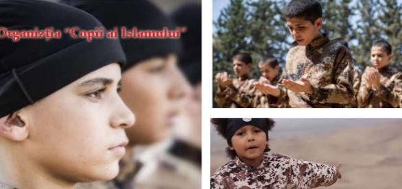 Copiii educaţi de ISIS după metode naziste
