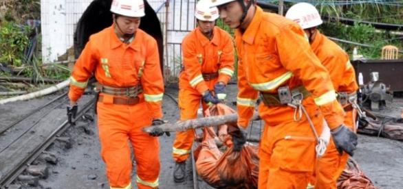 foto: ManchetPb - Incêndio em mina de carvão
