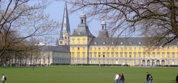 O castelo se tornou universidade em 1818