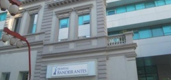 O hospital fica no bairro Liberdade, em São Paulo.