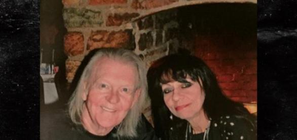 Randy Meisner e a mulher, casados desde 1992.