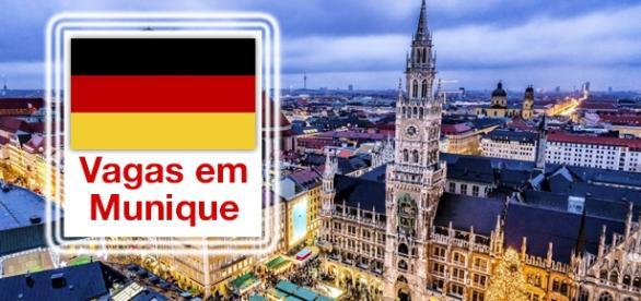 Vagas em Munique, na Alemanha.