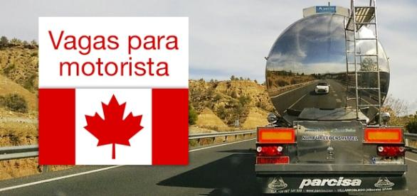 Vagas para motorista de caminhão no Canadá