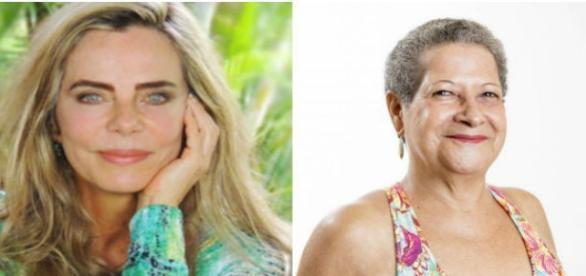 Bruna Lombardi e Greralda tem 63 anos