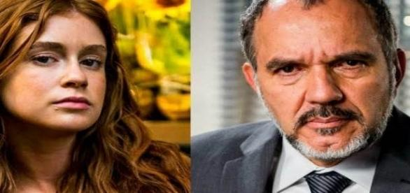 Germano é o pai de Eliza na trama das 19h da Globo