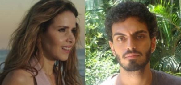 Leona Cavalli e neto de Chico Anysio