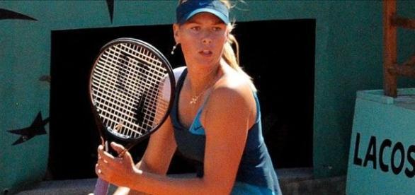 María Sharapova comenzó en el tenis muy joven.