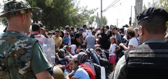 Refugiados sirios / Fuente: Wikipedia