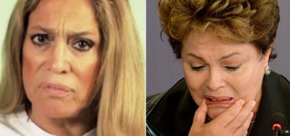Susana Vieira e o protesto polêmico contra Dilma